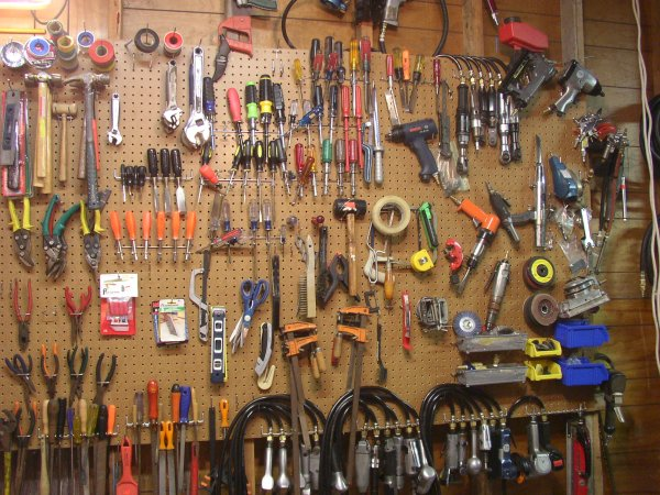 Pegboard For Heavy Tools